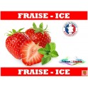e-liquide saveur Fraise - Ice